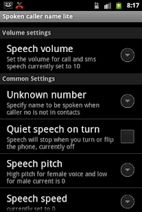 Talking Caller ID Free - screenshot thumbnail