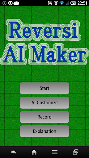 AI Maker Reversi
