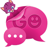 GOSMSTHEME Pink Kitten