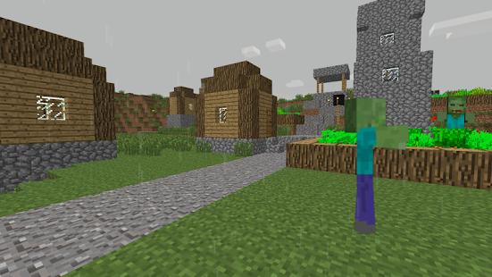 ZombieTown-Minecraft-Wallpaper 3