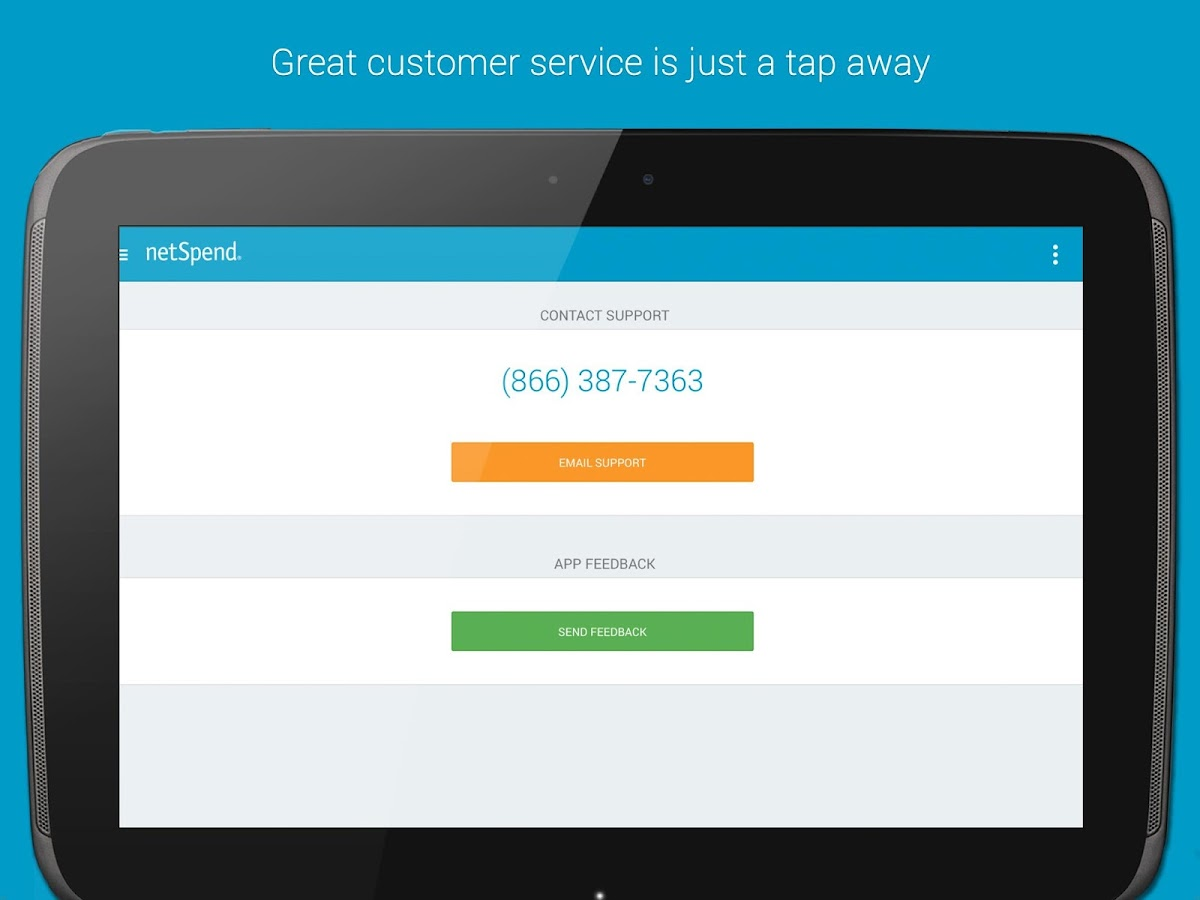 NetSpend Mobile Banking - screenshot