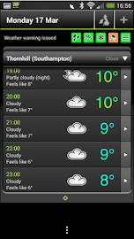 Met Office Weather App Screenshot 1