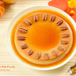 Pumpkin Pie Flan (Pudim de Abóbora)