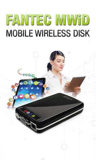 FANTEC MWiD25 Mobile WiFi DisK