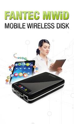FANTEC MWiD25 Mobile WiFi Disk - screenshot
