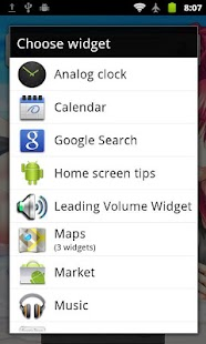 Leading Volume Widget - screenshot thumbnail