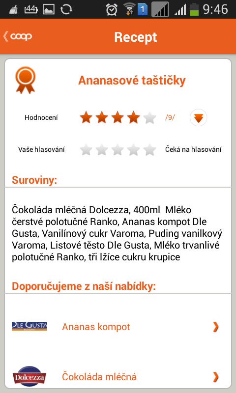 COOP Dobré recepty- screenshot