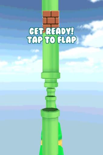 Flapping 3d Bird