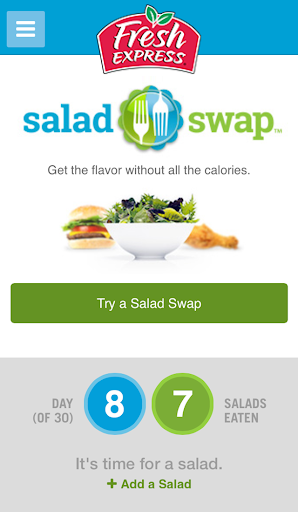 30 Day Salad Swap