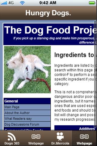 Dog Food - Food or What?. - screenshot