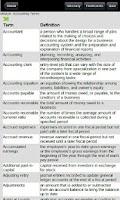Screenshot of 200 Accounting Terms Quiz