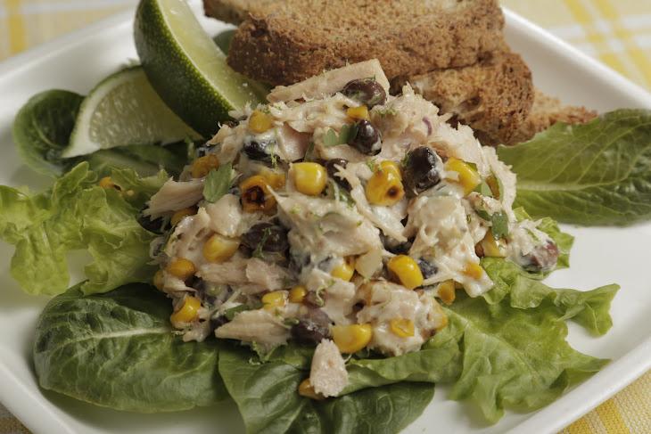 Mario Batali'S Tuna Salad with Charred Corn and Black Beans Recipe