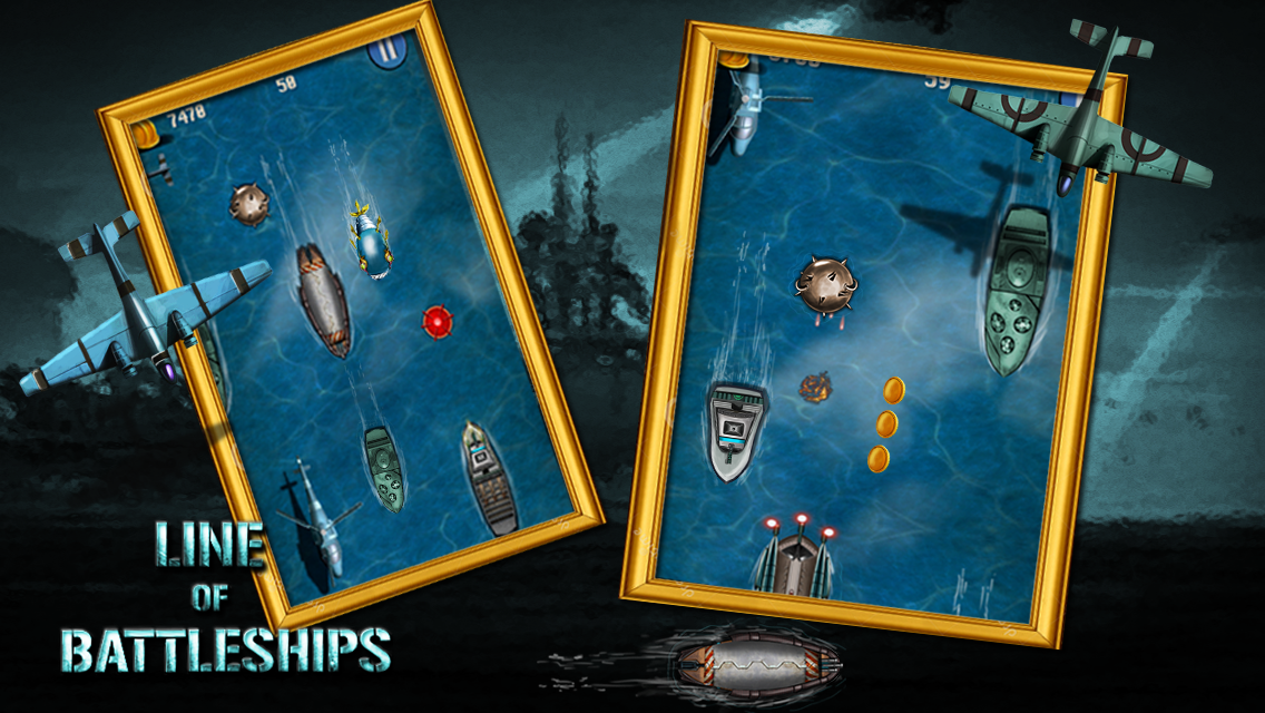 Line Of Battleships: Naval War- screenshot