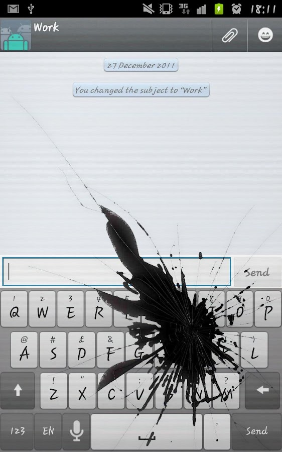 Cracked Screen Prank HD- screenshot
