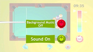 Billiards game screenshot for Android