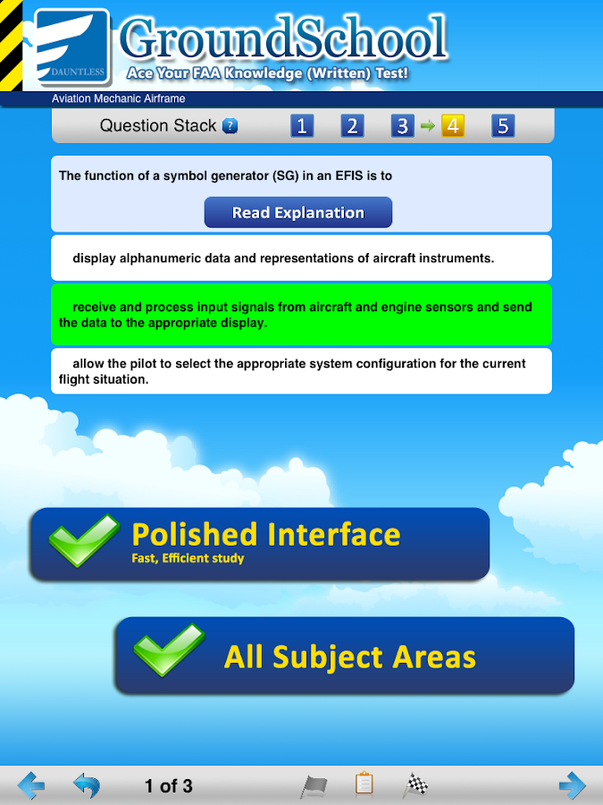 FAA A&P Airframe Test Prep - screenshot