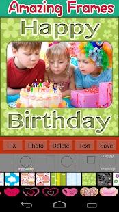 生日快樂框架