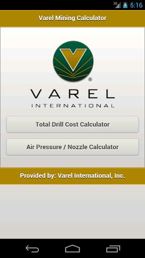 Varel Mining Calculator