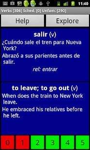 Spanish Basic Vocabulary- screenshot thumbnail