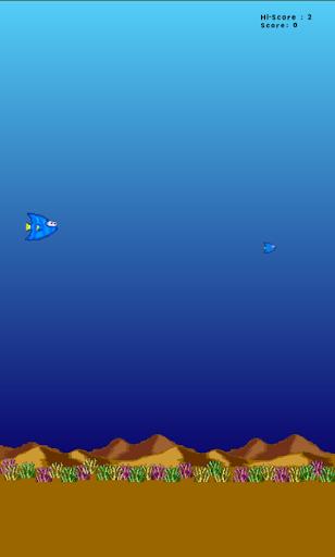 【免費休閒App】Dory - Flappy Fish-APP點子