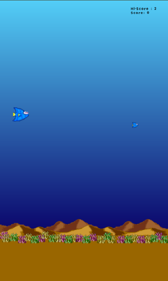 Dory - Flappy Fish - screenshot