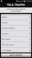 Screenshot of Tele-Traffic - Live Traffic