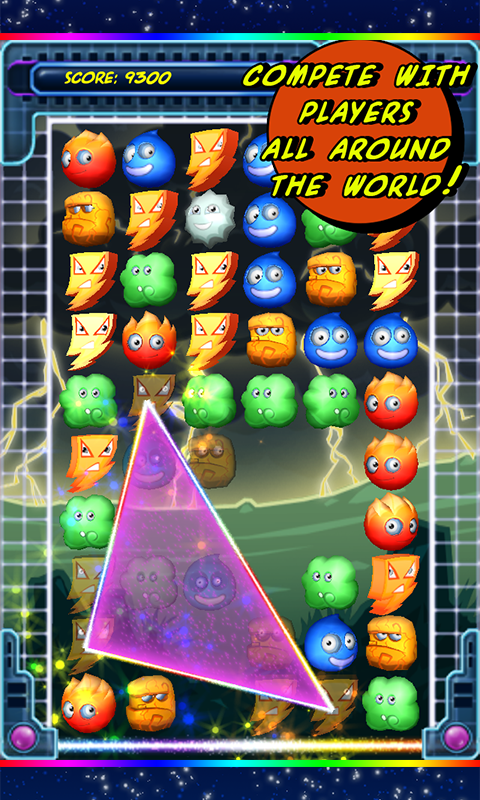 Elemental Galaxy Dx - Match3- screenshot