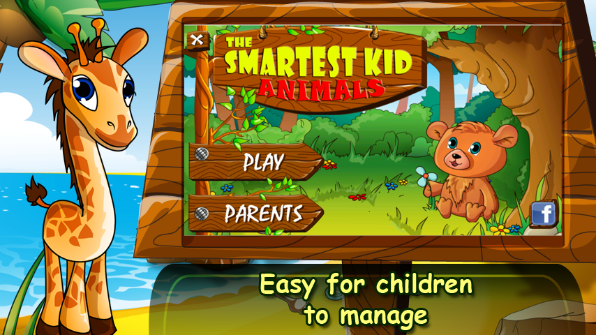 The Smartest Kid: Animals - screenshot