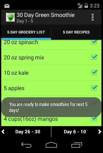 30 Day Green Smoothie