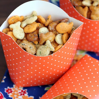 Zesty Goldfish Crackers Mix