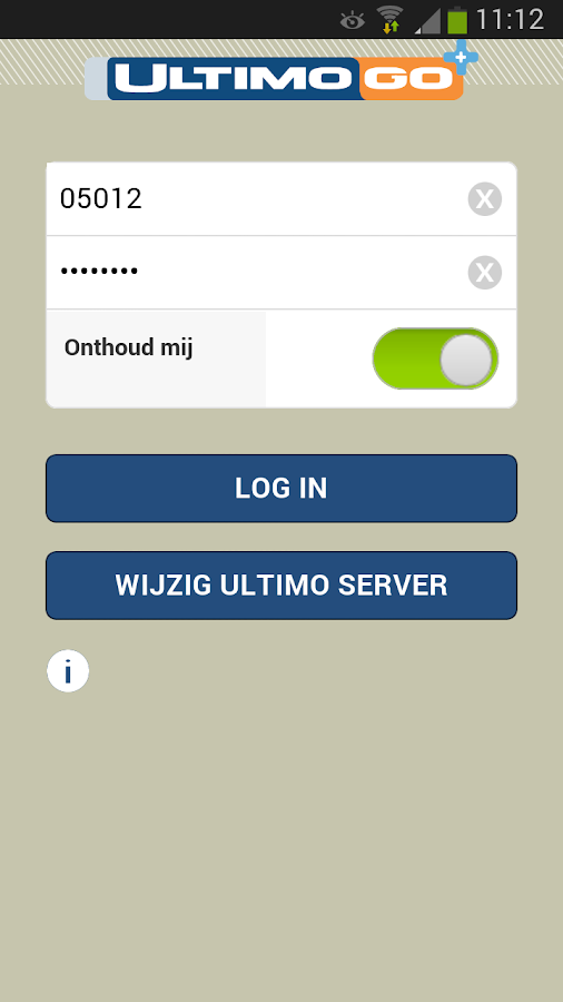 Ultimo Go+ - screenshot