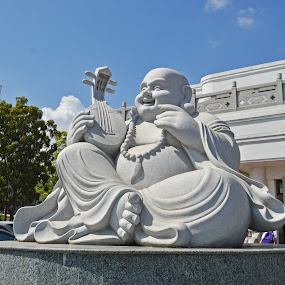 Peace & Divinity by Kester Kiew - Buildings & Architecture Statues & Monuments