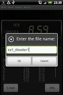 IPSC Shot Timer- screenshot thumbnail