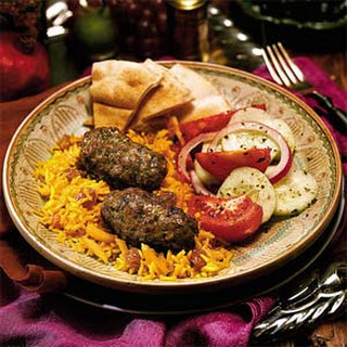 Persian Rice Pilaf.