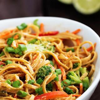 Peanut Ginger Noodles