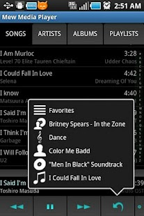 Mew Media Player - screenshot thumbnail