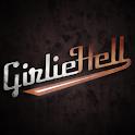 Girlie Hell Female Rock Band logo