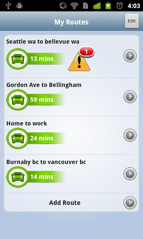 Global News Traffic - screenshot