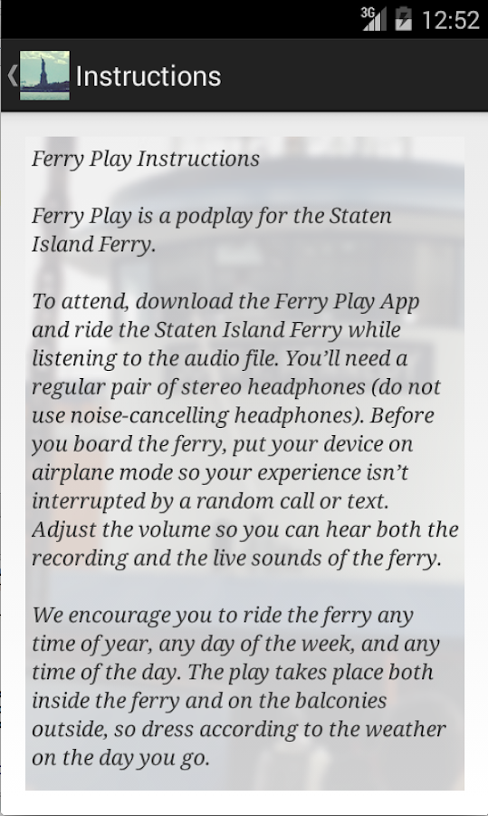 Ferry Play- screenshot