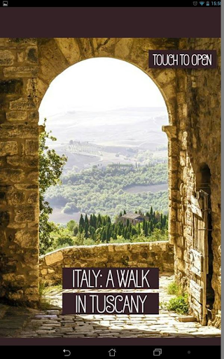 Italy: A Walk in Tuscany