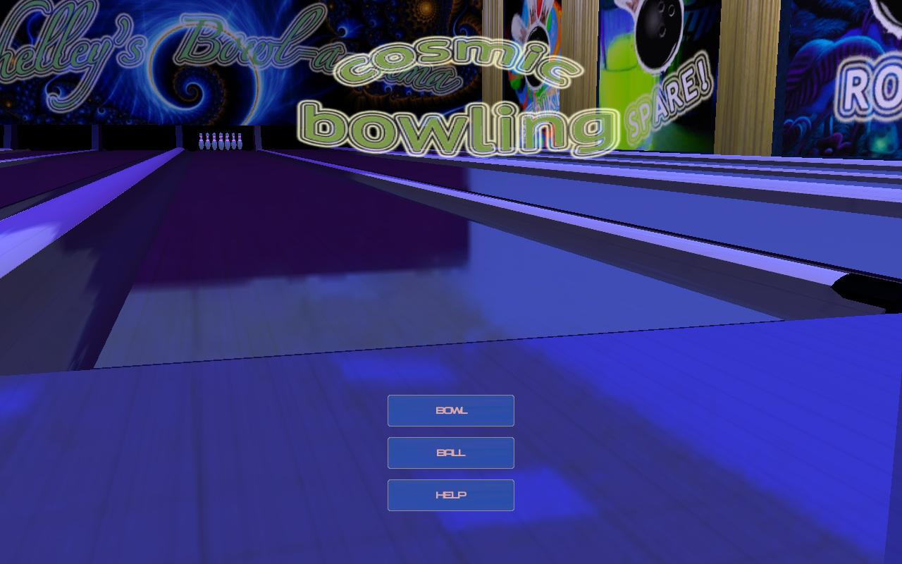 Cosmic Bowling- screenshot