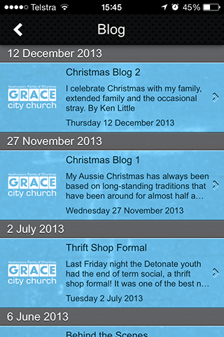 【免費生活App】Grace City Church-APP點子