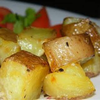 Butter Potatoes.