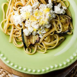 Zucchini Pasta with Ricotta