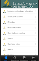 Screenshot of Conexión IASD
