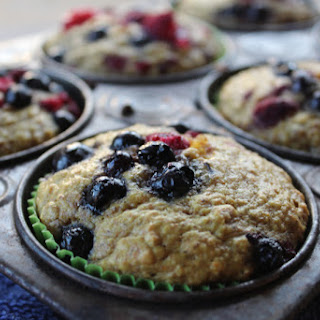 Berry Oatmeal Muffins