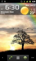 Sun Rise Live Wallpaper