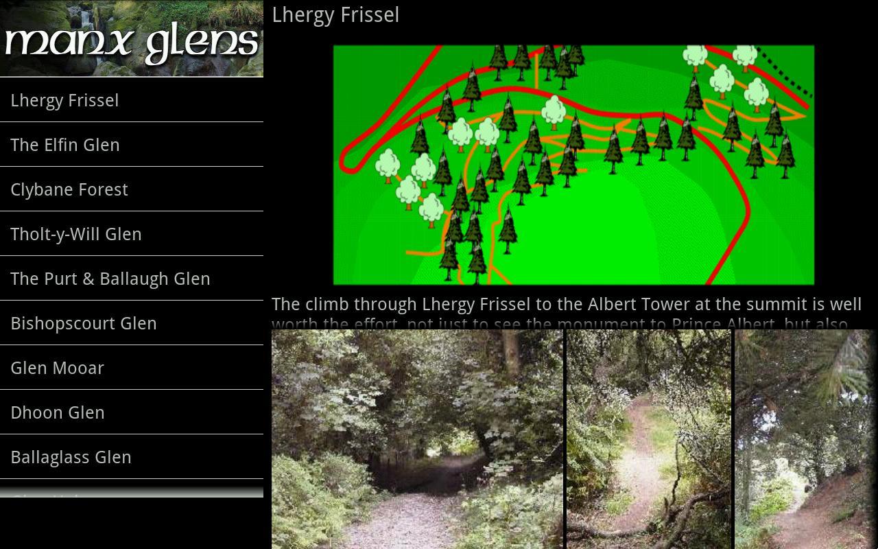 Manx Glens- screenshot