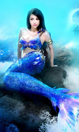 Magic Mermaid Live Wallpaper