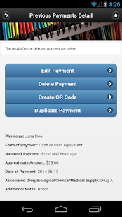 Open Payments for Physicians- screenshot thumbnail